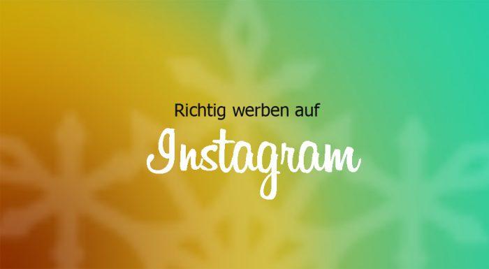 Warum Facebook Werbung auf Instagram nicht funktioniert