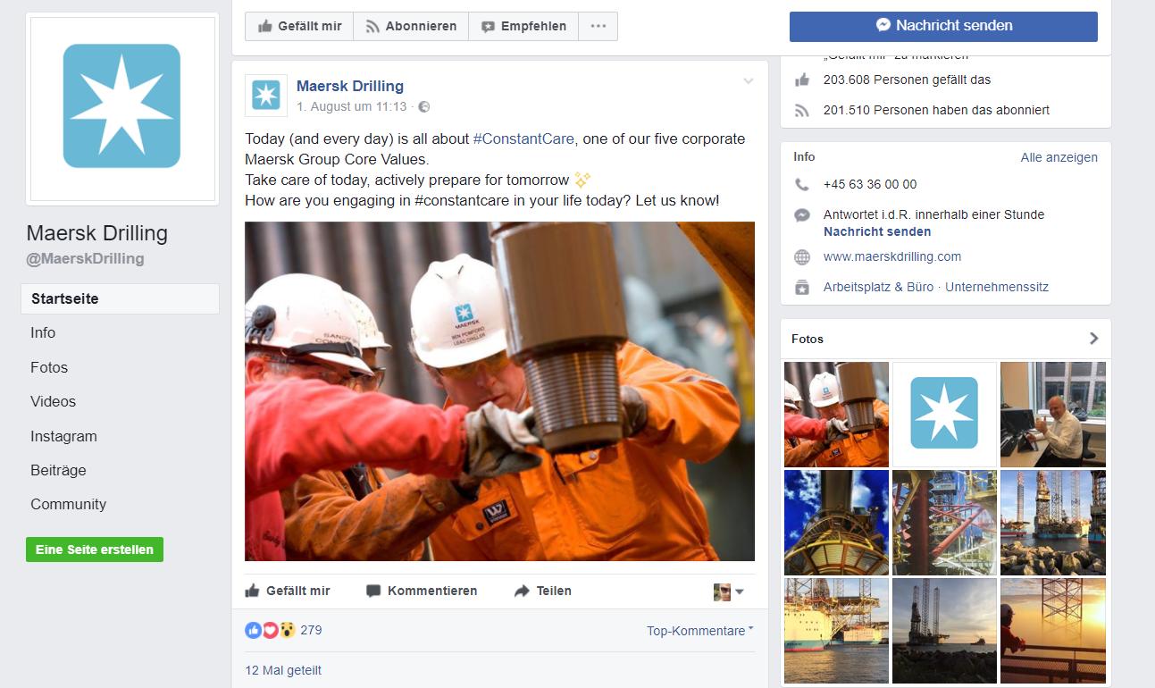Facebook Auftritt B2B - Online Marketing für Handwerker