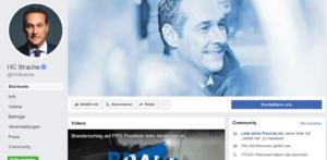 Wie viel ist Straches Facebook Seite eigentlich wert? (Social Media Analyse)